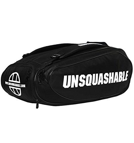 UNSQUASHABLE TOUR TEC PRO DELUXE RACKET BAG Racket Bag - Black