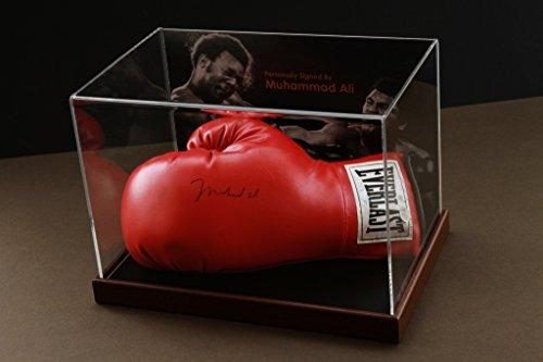 Up North Memorabilia Muhammad Ali Signed Boxing Glove Display Case Online Authentics Autograph COA