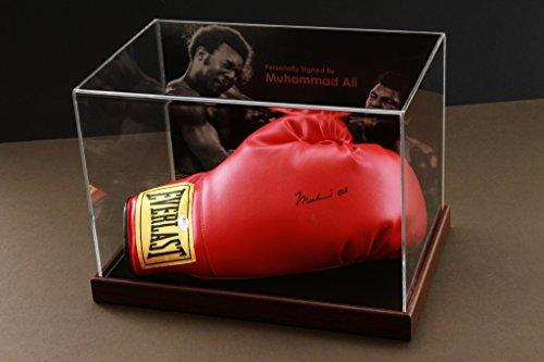 Up North Memorabilia Muhammad Ali Signed Boxing Glove Display Case Online Authentics COA Autograph
