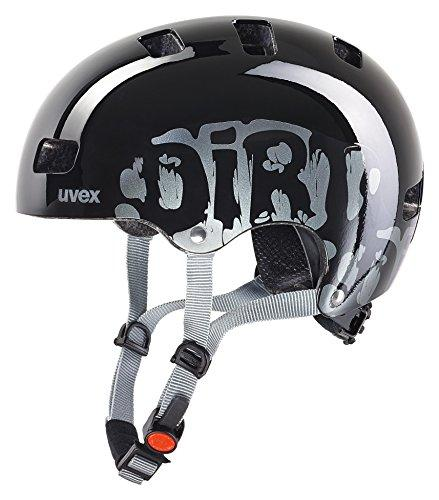 Uvex Kid 3 Helmet, Dirtbike Black, Size 55-58