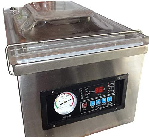 Vaccuumizer Ken Type DZ2630 Chamber Vacuum Sealer with Stainless Steel Housing Suitable for Flour and Powder Internal Welding Bar 260 x 10 mm