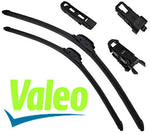 VALEO - Set with 2 Wiper Blades Special Windscreen Scraper 65/65 cm .