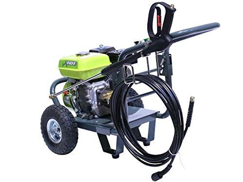 Varan Motors 93001 High Pressure Washer Gasoline 6 5HP 163CC 2700PSI 170BAR