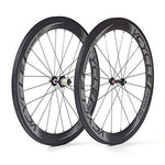 VCYCLE Nopea Carbon Fiber Racing Road Bike Wheelset 700C Clincher 60mm Ultra Light Shimano or Sram 8/9/10/11 Speed Only 1520g