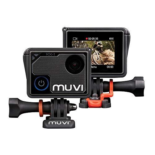 Veho Muvi KX-1 NPNG Action Camera | KX-Series | Handsfree Camcorder| WiFi | 8GB microSD Card | 4k Action Cam |12MP Photo | Waterproof Housing | LCD Touch Screen (VCC-008-KX1-NPNG)