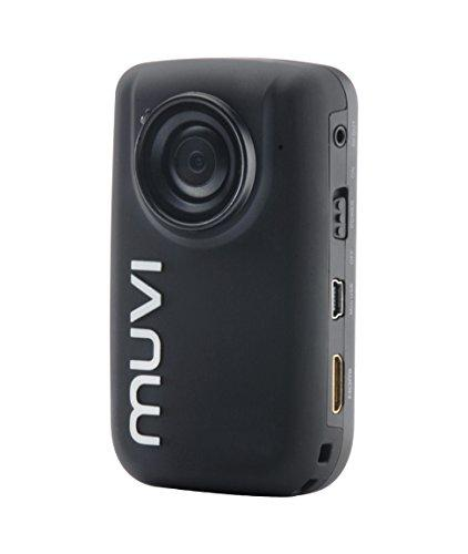 Veho VCC-005-MUVI-HD10 Mini Handsfree 1080p HD Camcorder/Action Camera with Wireless Remote Control, 4GB Memory and includes Sports Mounting Kit