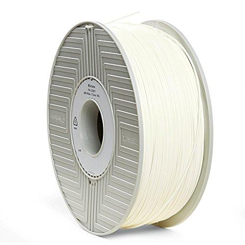 Verbatim 1.75 mm ABS 3D Filament for Printer - White