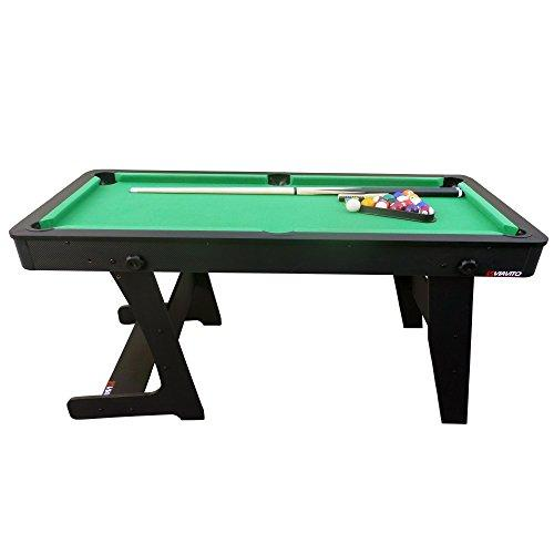 Viavito PTX Ft Folding Billard Pool Table With Accessories - Fold out pool table
