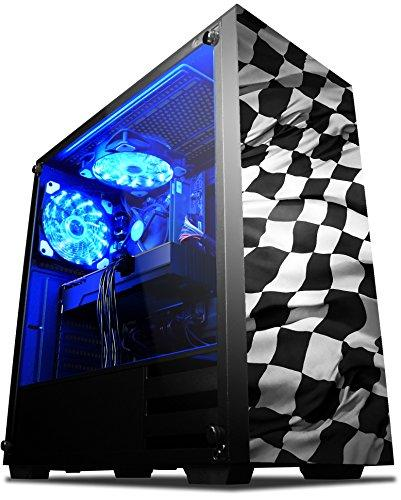 "... VIBOX Pyro GL560-269 Gaming PC Computer with Game Voucher, 3x Triple  22"" ..."