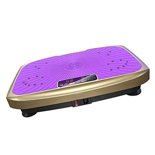 Vibration Plate Power Board Weight Loss Machine, Machine Body Shaking Fitness Training Equipment for Home Office