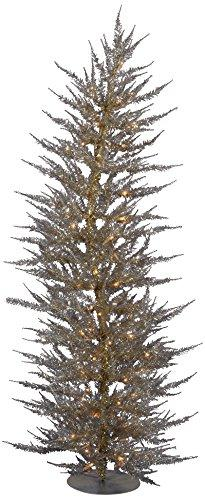 Vickerman Champagne Laser Christmas Tree