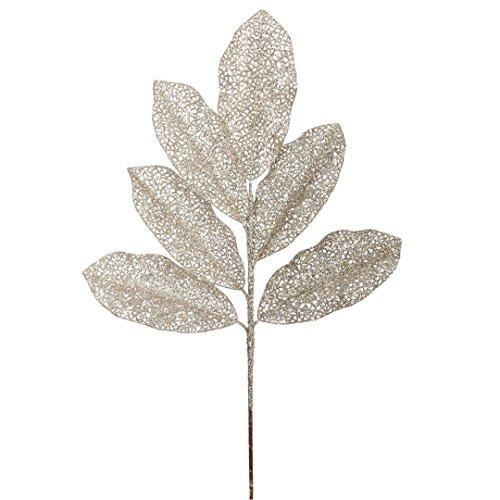 "Vickerman Magnolia Spray X 5 in 12/Bag, 22"", Champagne Glitter"