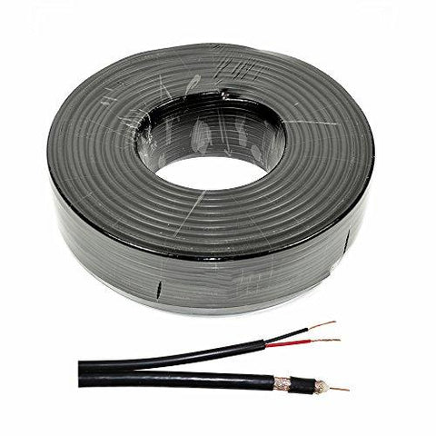 Video Power cable PNI CCTV-B 100M for CCTV surveillance cameras, 100 m reel