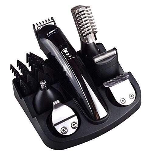 Viitop.eu Cordless Rechargeable Grooming Kit Multifunctional Beard, Hair and Body Clipper 7-in-1 Waterproof Trimmer for Maximum Versatility (11 in 1)