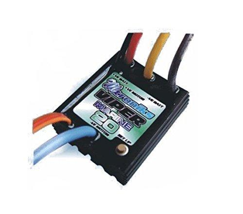 Viper Marine 20A Electronic Speed Controller for Model Boat 100% Waterproof