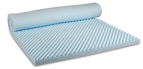 Visco Therapy Body Balance Egg Profiled 3.5 cm CoolBlue Memory Foam Mattress Topper with Cover - Single