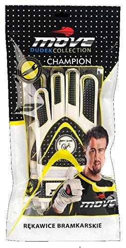 Vision One Dudek Champion Collection Adult Goalkeeper Gloves Black black Size:M