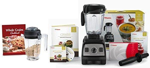 Vitamix CIA Professional Series 300 Onyx Blender With Wet Container, Dry Grai