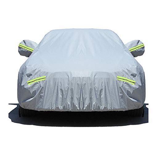 Vlook Car Covers For Automobiles All Weather Waterproof, Cars Clothing with Password Lock and Reflective Strip Durable Light Weight Sunscreen Sedan