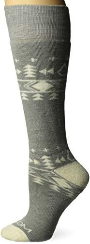 Volcom Women's Tundra Heavy Weight Snow Sock Snowboarding, Heather Grey, M/L