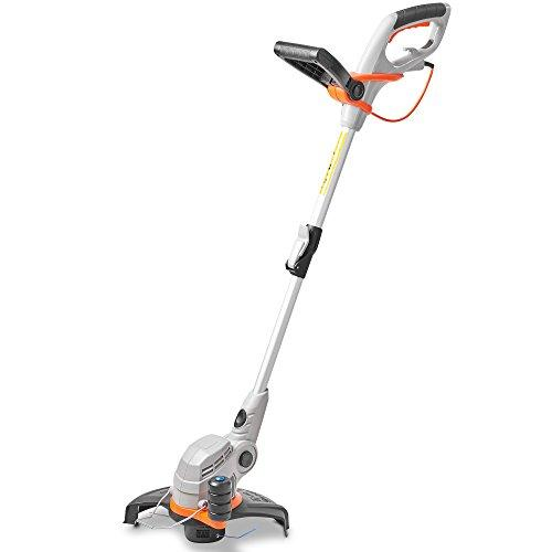 VonHaus 550W Grass Trimmer With Adjustable Telescopic Pole – 27cm Cutting Diameter & Adjustable Angle Head