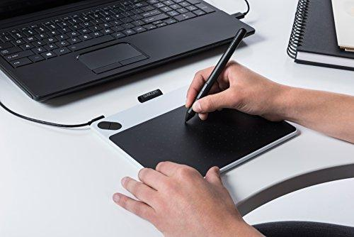 Wacom Intuos Draw Pen Tablet in Blue (Size: S) | Small Graphic Tablet incl   ArtRage Lite Software Download and the Precise Wacom Intuos Pen |