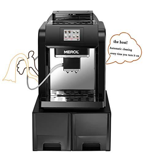 WangLx Automatic Water Supply Household Commercial Mini Freshly Ground Bean-Cooked Espresso Machine