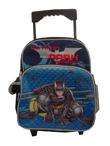 Warner Bros. Batman the Dark Knight Kid Size Luggage Rolling backpack