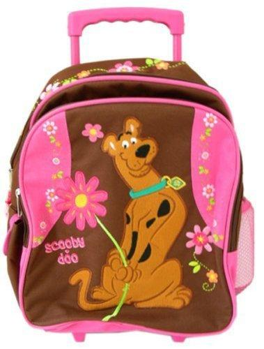 Warner Bros Scooby Doo luggage : Schooy Kid size Rolling backpack
