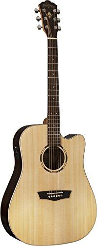 Washburn WLD20SCE Dreadnought-Size Electro-Acoustic Guitar with Cutaway