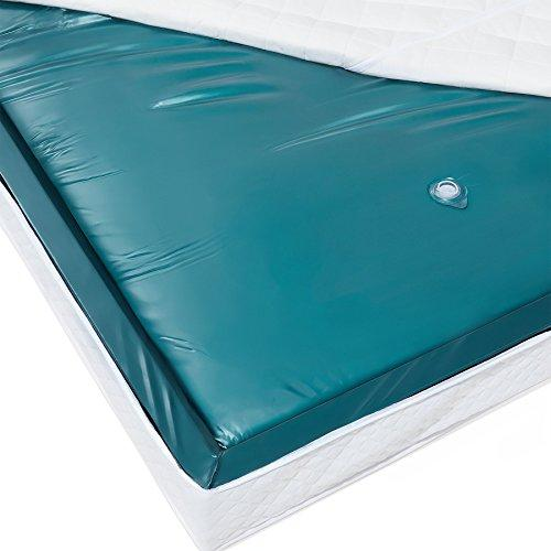 Waterbed Mattress Double 4ft6 Mono Blue Vinyl Strong Wave Reduction