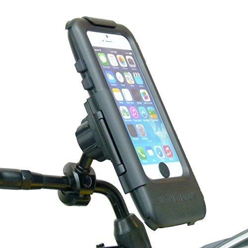 Waterproof Bike Motorcycle Scooter Tough Case Mirror Mount for iPhone 6 (sku 31519)