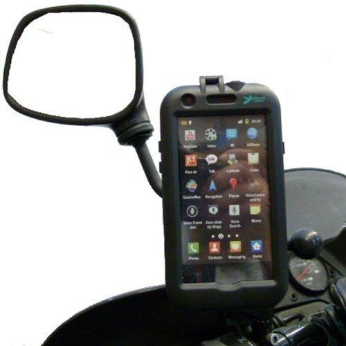 Waterproof Galaxy S2 i9100 Tough Case Motorcycle Mirror Mount (sku 14978)