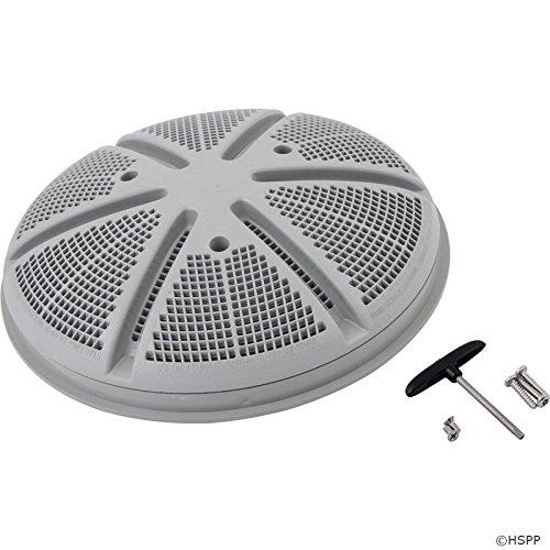 "Waterway Plastics 806105401434 10"" Gray WW Ultra Retro Gunite Main Drain Grate"