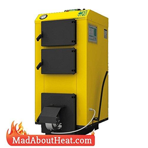 WBI 30Kw Pereko Wood Log Burner Boiler Multi Fuel Central Heating