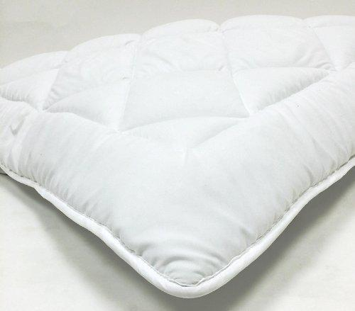 "Web Linens Inc Queen Waterbed - Down Alternative Mattress Pad/Topper-Fully Reversible (Double Life)-1"" w/Stay Tight Anchor Straps- Exclusively by Blowout Bedding RN# 142035"
