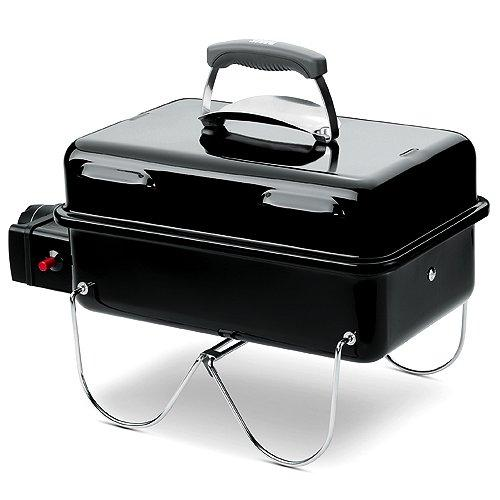 Weber 1141075 - Barbecue (Table, Black, Rectangular, 60 cm, 31.5 cm, 22.5 cm)