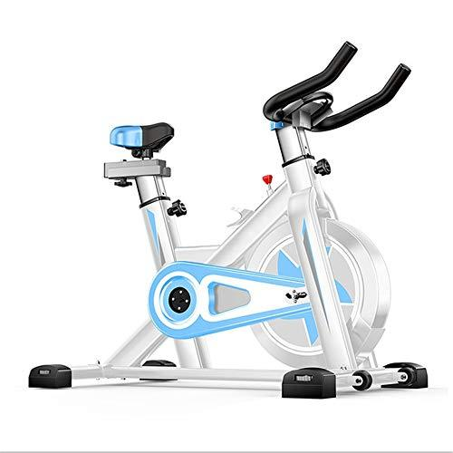 Weentop Indoor Cycling Exercise Bike Advanced Intelligent Spinning Bike With Training Computer And Elliptical Cross Trainer ideal Cardio Trainer (Color : Blue, Size : Free size)