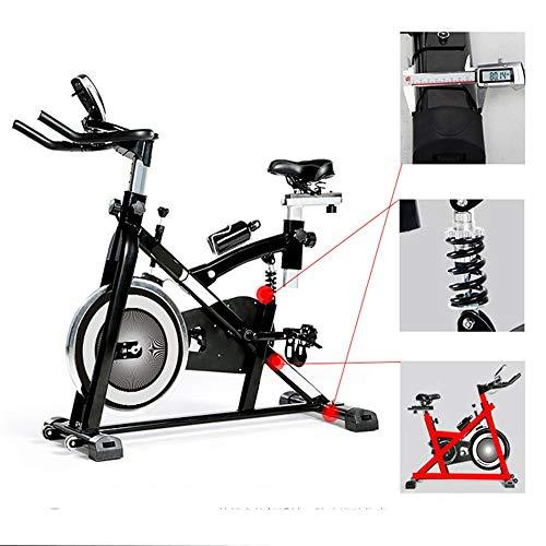 Weentop Indoor Cycling Exercise Bike Advanced Intelligent Spinning Bike With Training Computer And Elliptical Cross Trainer With Shock Absorption System ideal Cardio Trainer