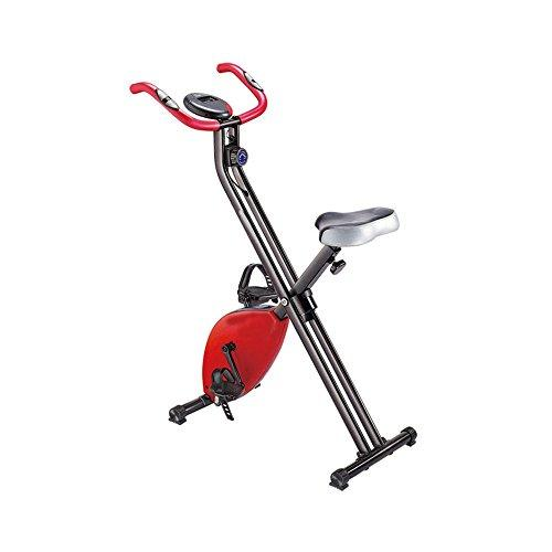 Weentop Indoor Cycling Exercise Bike Mini Exercise Bike Fitness Equipment Home Ultra-quiet Two-way Folding Magnetic Control Spinning Bicycle ideal Cardio Trainer