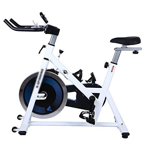 Weentop Indoor Cycling Exercise Bike Mute Spinning Bike Advanced With Training Computer And Elliptical Cross Trainer ideal Cardio Trainer