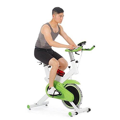 Weentop Indoor Cycling Exercise Bike Spinning Bicycle Home Pedal Ultra-quiet Indoor Pedal Fitness Equipment Sports Bicycle ideal Cardio Trainer