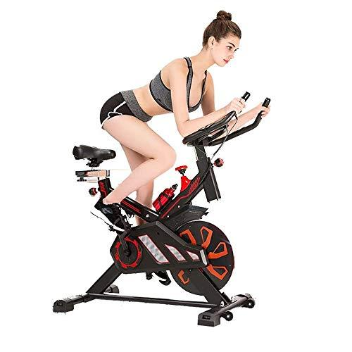 Weentop Indoor Cycling Exercise Bike Spinning Bike Advanced With Training Computer And Elliptical Cross Trainer ideal Cardio Trainer