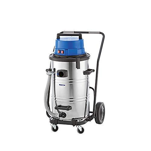 Wet and dry vacuum cleaner, vacuum cleaner for shavings, 2400 W, 95 l container.