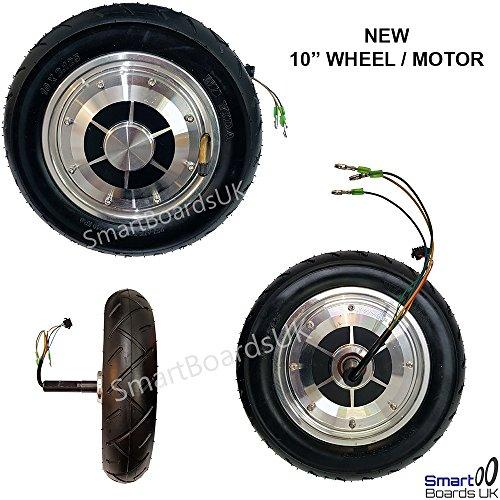 "WHEEL / MOTOR fits 10 Inch Hoverboard, Swegway, Self Balance Scooter, Swagway, ioHawk, Phunkee Duck, Bluefin Cobra 10"" (PAIR)"
