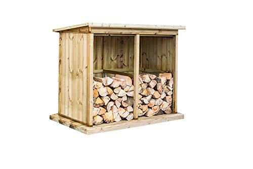 Wheelie Bin Storage Direct Ignis Double Log Store
