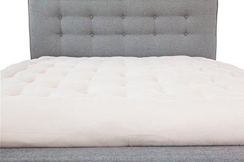 White Lotus Home Futon Mattress, Cotton, X-Large/Twin/6""