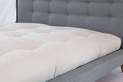 White Lotus Home Futon Mattress, Cotton, X-Large/Twin/7""