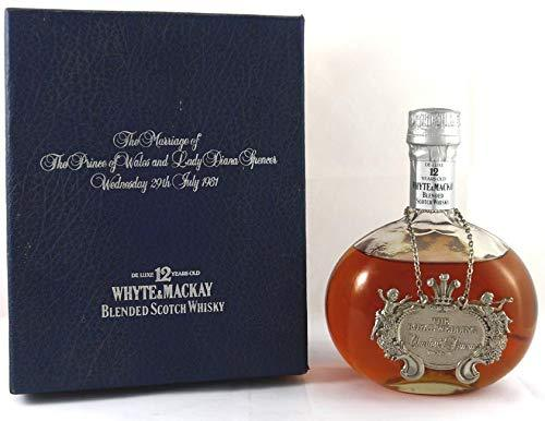 Whyte & Mackay 12 Year Old Whisky/Royal Wedding 1994 70cl in its original gift box