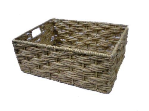 Wicker Storage Basket Water Hyacinth - Small